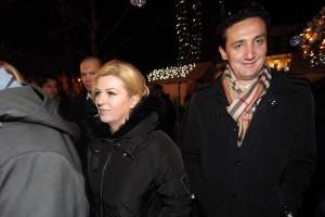 FOTO: Predsjednica Kolinda Grabar Kitarović prošetala Zrinjevcem