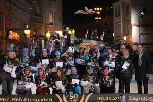 U središtu Zagreba održana revijalna utrka 18 pobjednika Svjetskog kupa