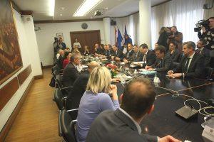 Gradonačelnik Milan Bandić, primio je delegaciju Francuske udruge poslodavaca