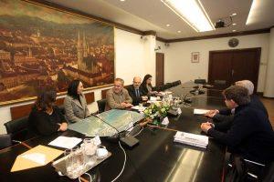 Delegacija Općine Marčana kod gradonačelnika