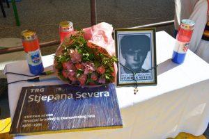 Otvorenje trga Stjepana Severa