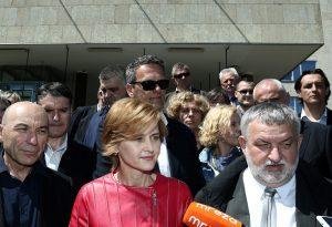 """Sandra Švaljek predala kandidaturu za zagrebačku gradonačelnicu: """"Pobjeđujem u drugom krugu"""""""