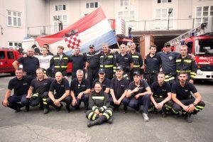 Veličanstveni doček zagrebačkih vatrogasaca