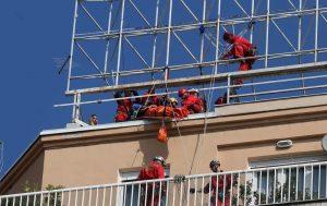 Civilna zaštita prikazala spašavanje s visokih zgrada
