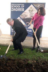 Započela je gradnja Američke međunarodne škole u Zagrebu