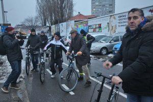 Međunarodni dan zimske vožnje biciklom na posao