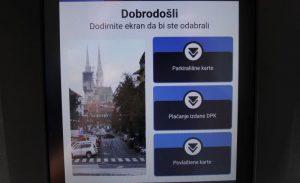Zagrebparking instalirao aparate za plaćanje i debitnim/kreditnim karticama