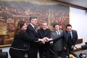 Potpisan ugovor o sufinanciranju rekonstrukcije zagrebačkog rotora iz europskih sredstava