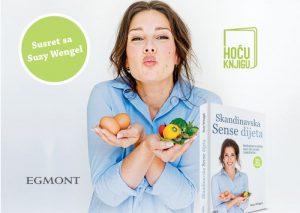 """HOĆU KNJIGU: Promocija knjige """"Skandinavska Sense dijeta"""" Suzy Wengel"""