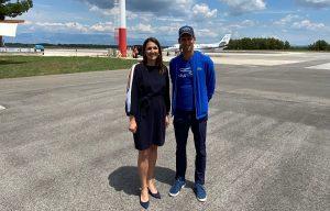 ADRIA TOUR: Najbolji tenisač svijeta Novak Đoković sletio u Zadar