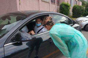 KK CIBONA: Cibosi odradili drive-in testiranje na koronavirus