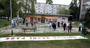 """""""Knežija brani park"""" prikupila 4216 potpisa protiv gradnje osmerokatnice"""