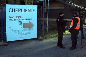 Na Zagrebačkom velesajmu provodi se masovno cijepljenje