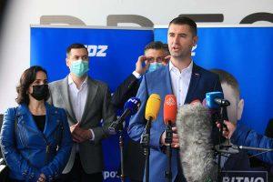 Koalicija HDZ, HSLS i HSU predala liste za gradonačelnika i Gradsku skupštinu